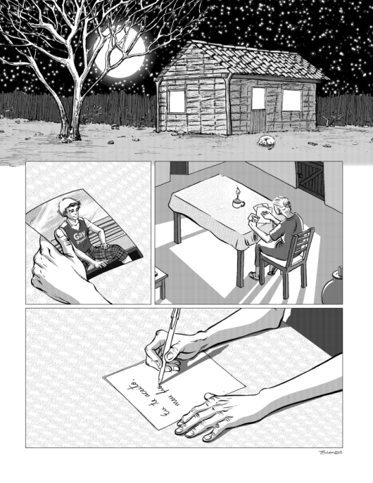 Blenda Furtado - Amor em Quadrinhos web